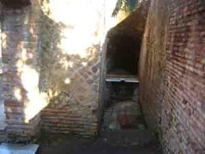 ostia antica latrine